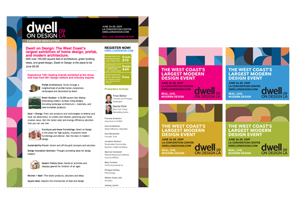 Dwell on design 2009 nicole parente lopez for Sample email blast template